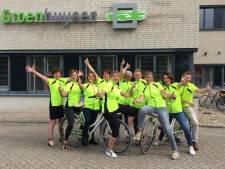 Team Groenhuysen voor het eerst in Veluwse fietstocht voor Alzheimer