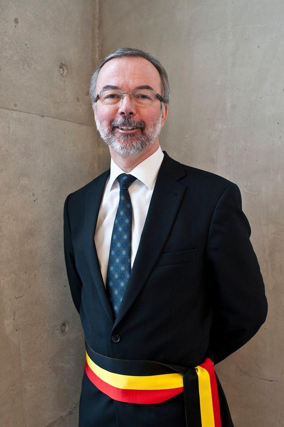 Snyders bij zijn aanstelling tot burgemeester in 2012.
