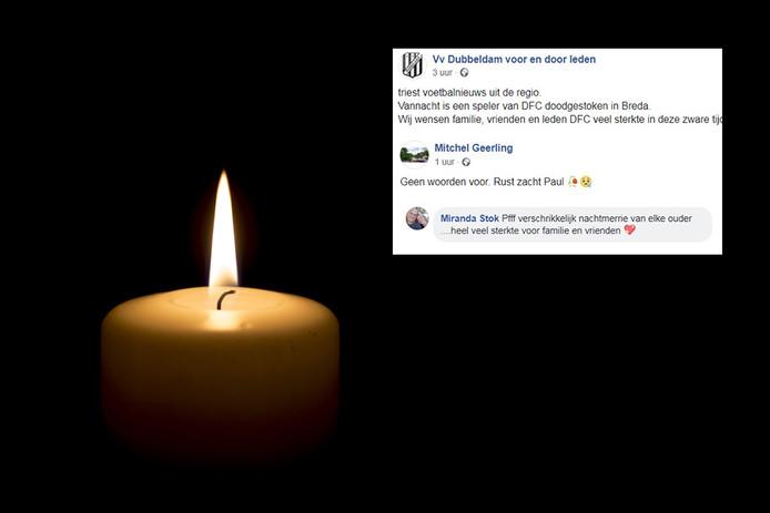 De reacties op het overlijden van de neergestoken Paul uit Dordrecht stromen binnen.
