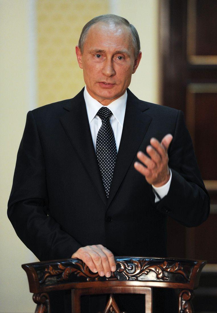 De Russische president Vladimir Poetin Beeld ap