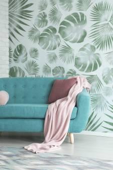 Behang en kussens met blaadjes? De botanische trend is niet te stuiten