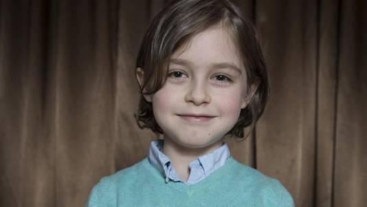 Laurent is acht jaar, maar nu al klaar met het gymnasium.