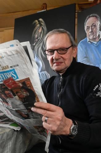 """Ontbijten met HLN-lezer Noël Verfaillie (70): """"Hopelijk komt mijn schilderij van Van Ranst bij hem terecht. Misschien leest hij dit?"""""""