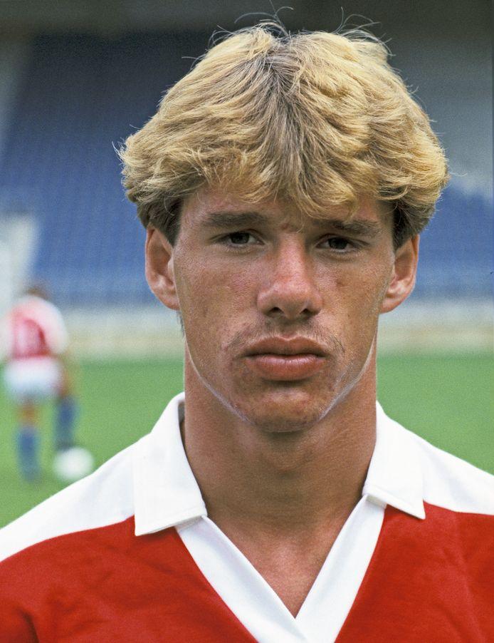 Portret van Rob de Wit, gemaakt in 1983.