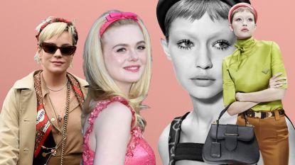 Populair bij celebs en op de catwalk: de haarband is weer hip