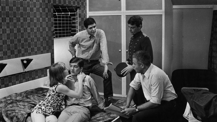 Toneelacademie Maastricht 1966 'Eindelijk vakantie' Beeld ANP