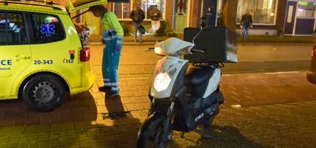 Maaltijdbezorger naar ziekenhuis na aanrijding in Tilburg