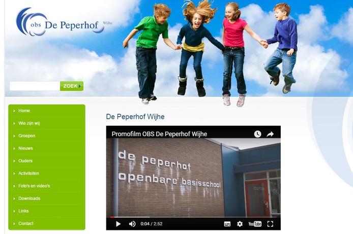 De site van de Peperhof.