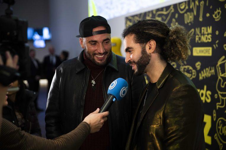 De regisseurs Adil El Arbi en Bilall Fallah van de nieuwe 'Bad Boys For Life'.