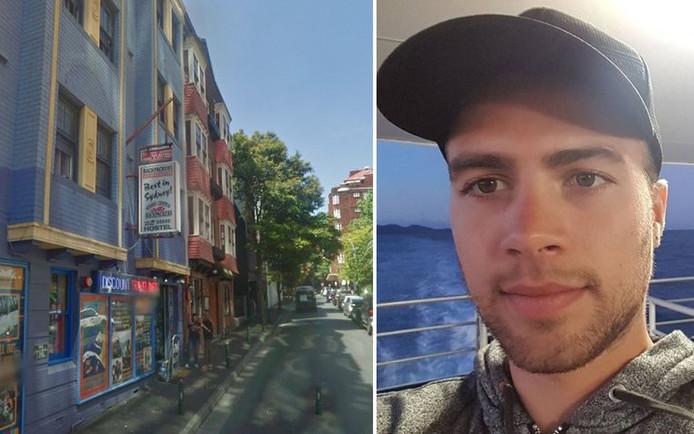 Dorian logeait dans cet hôtel à Sydney avant de disparaître mystérieusement le 12 octobre dernier.