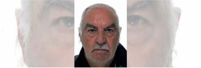 Jean Van Den Bosch uit Halle is sinds maandag 4 januari vermist.