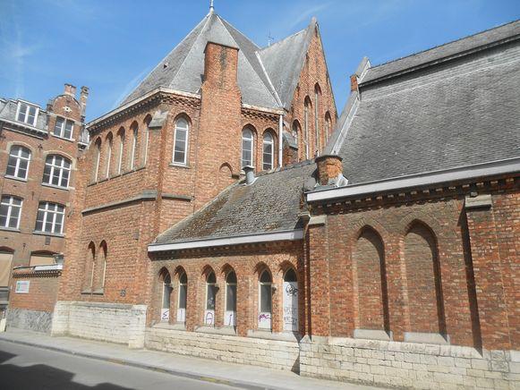 Het zogenaamde tweede anatomisch theater in de Minderbroederstraat in Leuven.