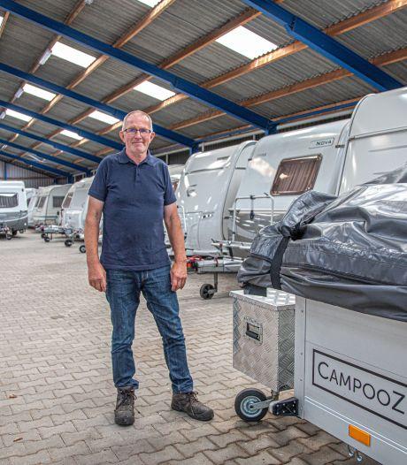 Nu een caravan of camper kopen? Bijna iedere stalling zit vol