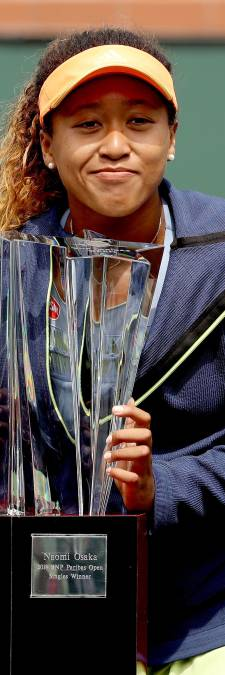 Japans tennistalent Osaka (20) voltooit stunt in Indian Wells