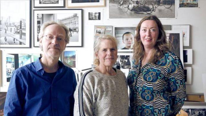 Nico Huijbregts, Inge Hondebrink, Pascale Companjen (vlnr).