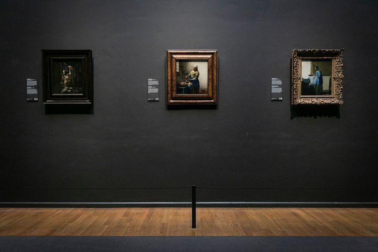 De Eregalerij van het Rijksmuseum voor openingstijd. Beeld Dingena Mol