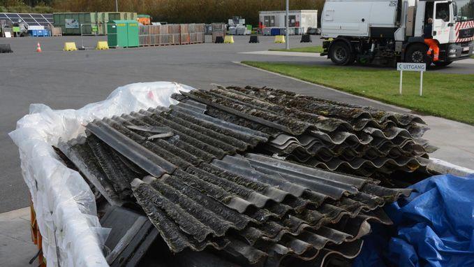 Asbest enkel nog op één containerpark welkom