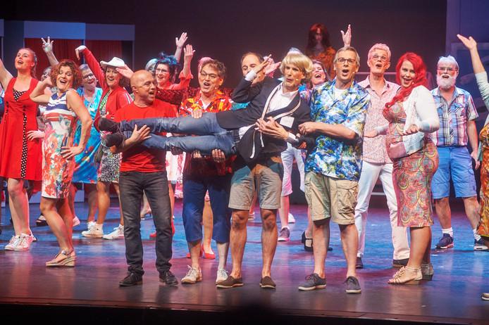 In 'Uden in Noot', de laatste Udense Musical van 2018 was een hoofdrol weggelegd voor de Udense 'Addy van den Crommenacker'.