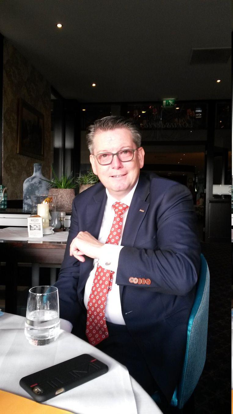 Ton Duivenvoorden, voorzitter Horeca Nederland, afd. Emmen. Beeld