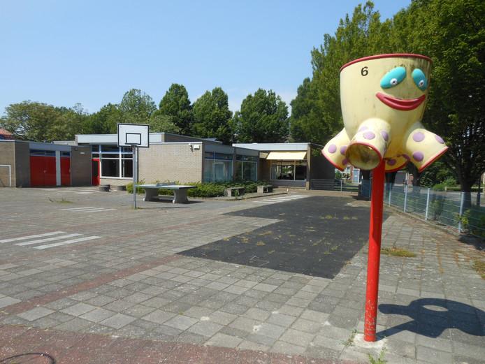 De voormalige dorpsschool Kats