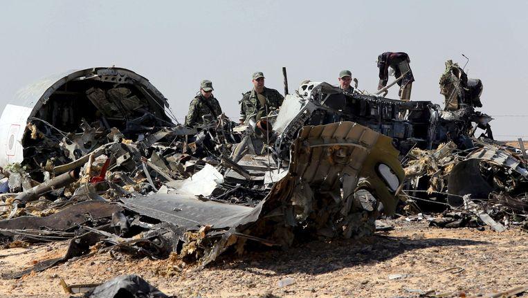 Rampplek Russische vliegtuig in de Sinaï, Egypte. Beeld reuters