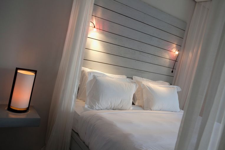 De honeymoon suite.