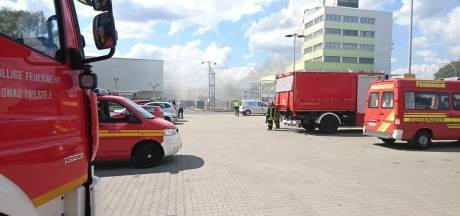 Miljoenen euro's schade na brand bij meubelzaak Roller in Gronau