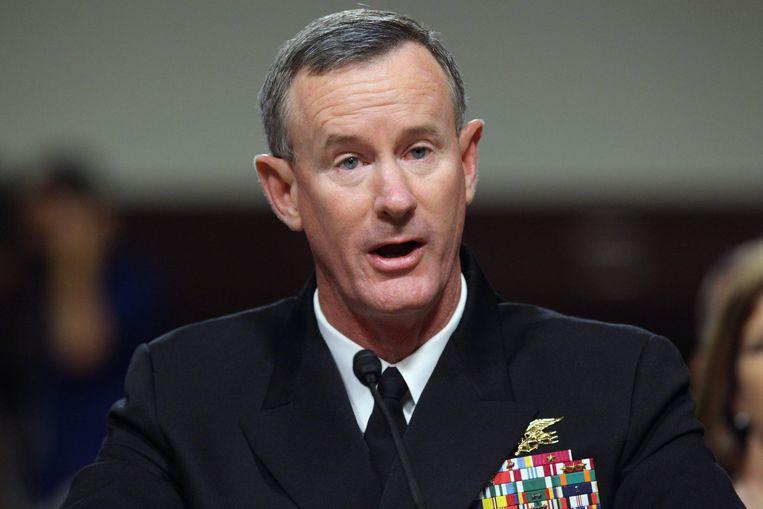 Navy SEAL admiraal op rust, Bill McRaven.