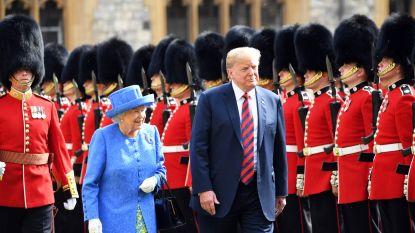 Britten niet te spreken over leugen van Trump over de Queen