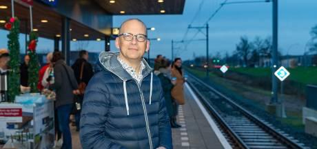 Zucht van verlichting op station Zwolle Stadshagen: 'Ik had de hoop al een beetje opgegeven'