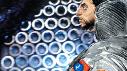 Nieuwe foto's tonen hoe bomgordel Abdeslam vol met moeren zat