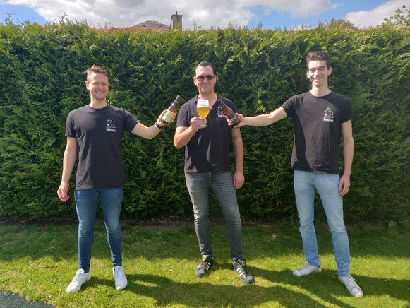 Jens Dierckx, Steven Neirinckx en Pieter Appelmans lanceren hun Nobilem Blond in volle coronacrisis.