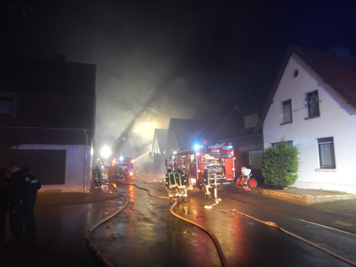 De brand in de Wikbertstrasse in Vreden