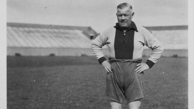 Reynolds had zijn eigen visie. 'Negentig procent van de doelpunten is van vleugelspel afkomstig' Beeld .