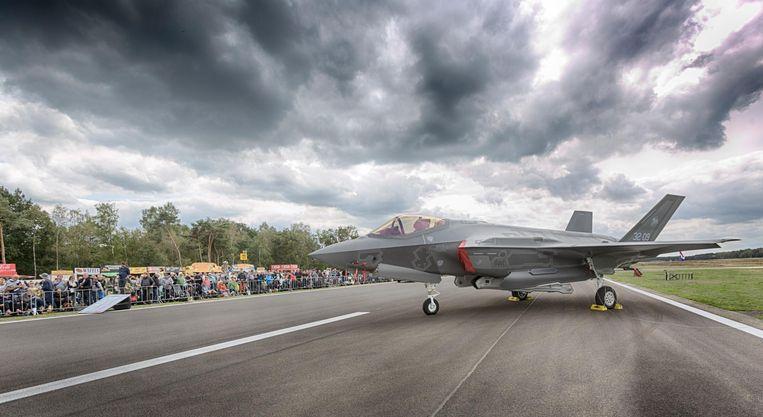 De F-35 was het gespreksonderwerp onder de ruim 70.000 bezoekers.