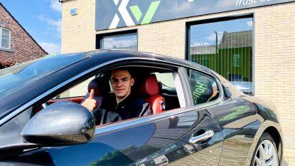 Menno, de 'topuitzendkracht' van Trixxo Jobs rijdt weekendje  met Maserati