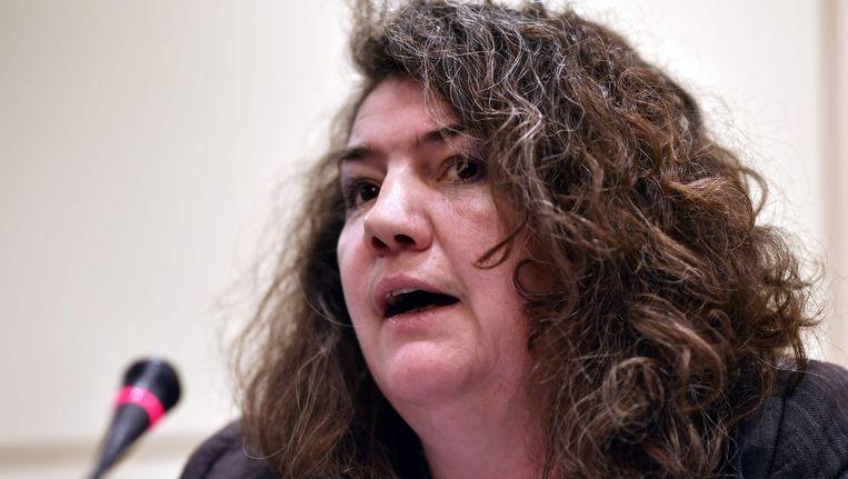 Gevangenisdirectrice Valerie Lebrun van de gevangenis van Ittre.