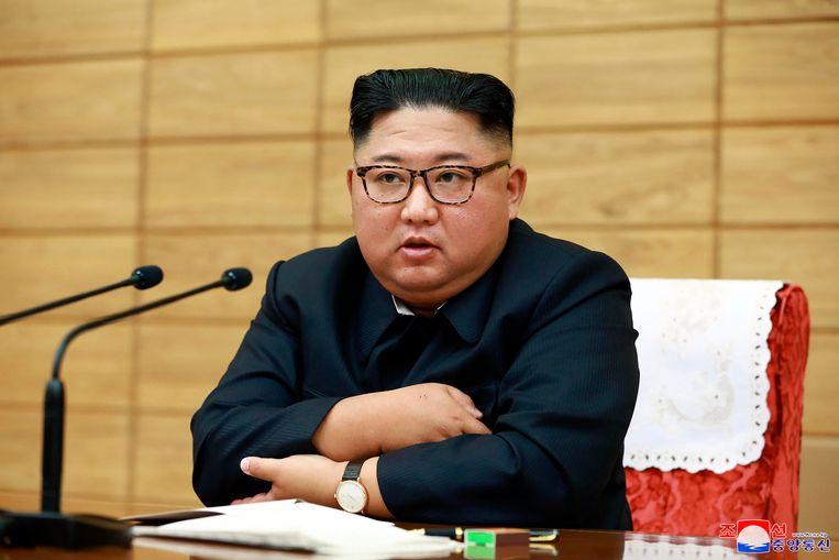 De Noord-Koreaanse leider Kim Jong-un heeft het amateurisme gehekeld van de autoriteiten in zijn land in de voorbereiding op de naderende tyfoon Lingling.