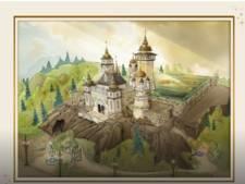 Nieuwe schetsen vrijgegeven van Efteling-attractie Symbolica