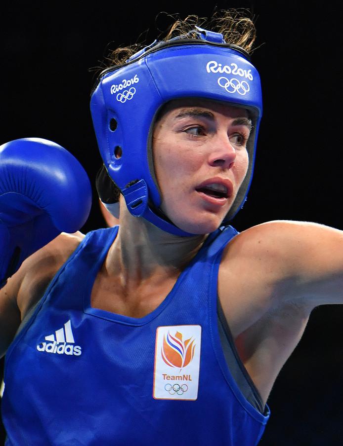 Nouchka Fontijn op de Olympische Spelen van 2016 in Rio.