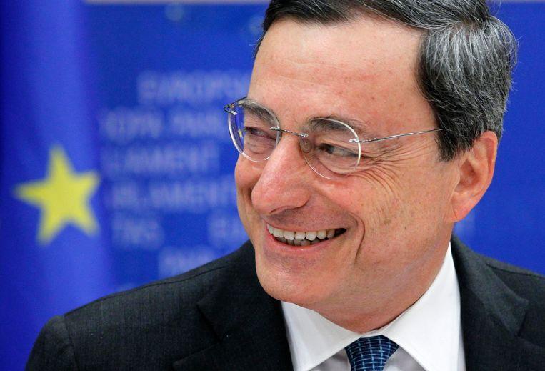 ECB-voorzitter Mario Draghi.