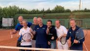 Heren 45+ van tennisclub De Vrijheid stunten