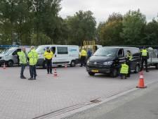 Grote politiecontrole bij Raalte