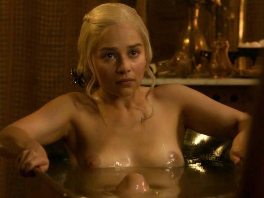 Emilia clarke nude on stage 5