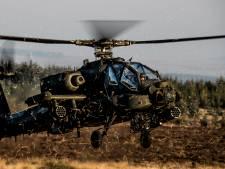 Drukte in de lucht door grote oefening met legerheli's