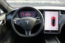 Het interieur van de Tesla Model S.