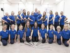 26 podiumplaatsen voor majorettes van muziekvereniging Juliana uit Den Ham