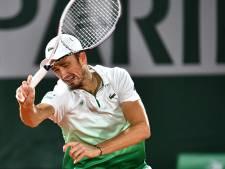 Medvedev strandt opnieuw in eerste ronde Roland Garros