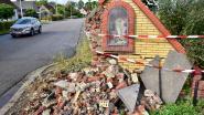 Schepencollege buigt zich over vernielde kapel