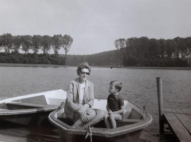De bootjes waren enkel om in te poseren voor de foto.